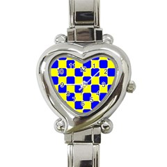 Pattern Heart Italian Charm Watch  by Siebenhuehner