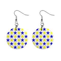 Star Mini Button Earrings by Siebenhuehner