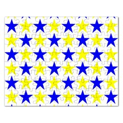 Star Jigsaw Puzzle (rectangle) by Siebenhuehner