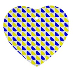 Pattern Heart Ornament
