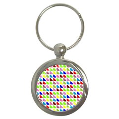 Pattern Key Chain (round) by Siebenhuehner