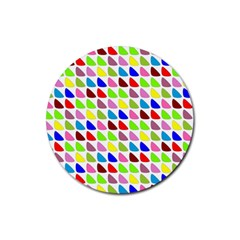 Pattern Drink Coasters 4 Pack (round) by Siebenhuehner