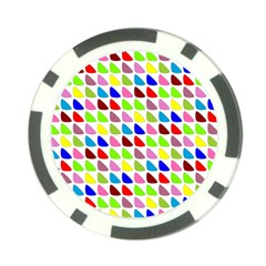 Pattern Poker Chip by Siebenhuehner