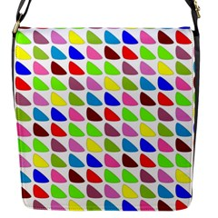 Pattern Flap Closure Messenger Bag (small) by Siebenhuehner