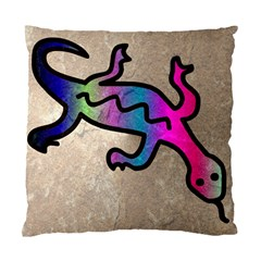 Lizard Cushion Case (two Sided)