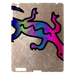 Lizard Apple Ipad 3/4 Hardshell Case