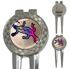 Lizard Golf Pitchfork & Ball Marker