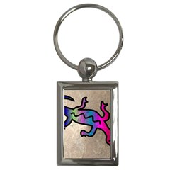 Lizard Key Chain (rectangle)