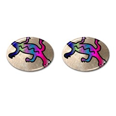Lizard Cufflinks (oval)