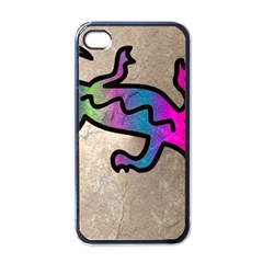Lizard Apple Iphone 4 Case (black) by Siebenhuehner