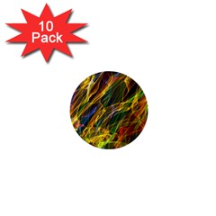 Abstract Smoke 1  Mini Button (10 Pack) by StuffOrSomething