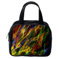 Abstract Smoke Classic Handbag (one Side) by StuffOrSomething
