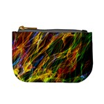 Abstract Smoke Coin Change Purse Front