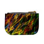 Abstract Smoke Coin Change Purse Back