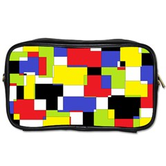 Mod Geometric Travel Toiletry Bag (one Side) by StuffOrSomething