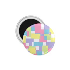 Mod Pastel Geometric 1 75  Button Magnet by StuffOrSomething