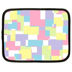 Mod Pastel Geometric Netbook Sleeve (xl) by StuffOrSomething