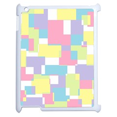 Mod Pastel Geometric Apple Ipad 2 Case (white) by StuffOrSomething