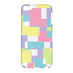 Mod Pastel Geometric Apple Ipod Touch 5 Hardshell Case by StuffOrSomething
