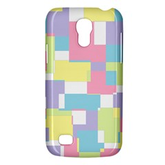Mod Pastel Geometric Samsung Galaxy S4 Mini (gt I9190) Hardshell Case  by StuffOrSomething