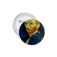 Vincent Van Gogh Self Portrait With Palette 1 75  Button by MasterpiecesOfArt