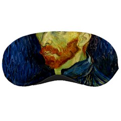 Vincent Van Gogh Self Portrait With Palette Sleeping Mask by MasterpiecesOfArt
