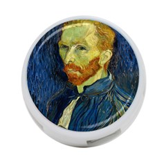 Vincent Van Gogh Self Portrait With Palette 4 Port Usb Hub (one Side) by MasterpiecesOfArt
