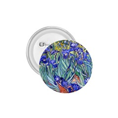 Vincent Van Gogh Irises 1 75  Button by MasterpiecesOfArt