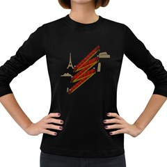 Flash Photography Women s Long Sleeve T Shirt (dark Colored)