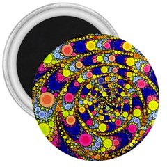 Wild Bubbles 1966 3  Button Magnet by ImpressiveMoments