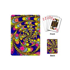 Wild Bubbles 1966 Playing Cards (mini) by ImpressiveMoments