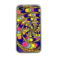 Wild Bubbles 1966 Apple Iphone 4 Case (clear) by ImpressiveMoments