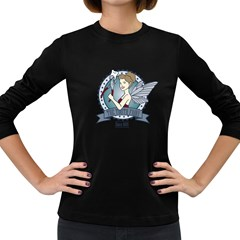 The Tooth Fairy Women s Long Sleeve T Shirt (dark Colored)