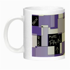 Purple Pain Modular Glow In The Dark Mug by FunWithFibro
