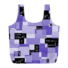 Purple Pain Modular Reusable Bag (l) by FunWithFibro