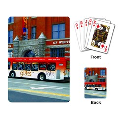 Double Decker Bus   Ave Hurley   Playing Cards Single Design by ArtRave2