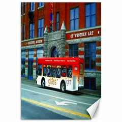 Double Decker Bus   Ave Hurley   Canvas 12  X 18  (unframed) by ArtRave2