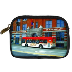 Double Decker Bus   Ave Hurley   Digital Camera Leather Case by ArtRave2
