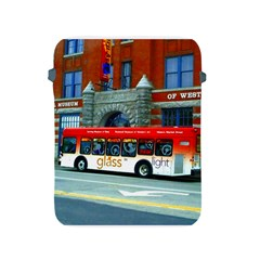 Double Decker Bus   Ave Hurley   Apple Ipad Protective Sleeve by ArtRave2