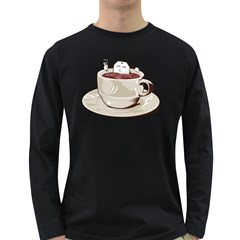 Tea Time Men s Long Sleeve T-shirt (dark Colored) by Contest1753604