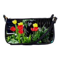 Black Gsd Pup Evening Bag by StuffOrSomething