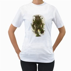 Treebear Women s T Shirt (white)  by Contest1836099