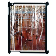 Automn Swamp Apple Ipad 2 Case (black) by cgar