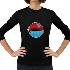 Vintage  Women s Long Sleeve T Shirt (dark Colored) by Contest1854579