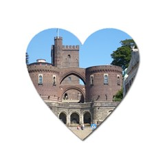 Helsingborg Castle Magnet (heart) by StuffOrSomething
