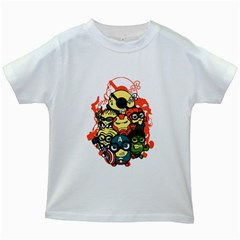 Despicable Avengers Kids T-shirt (white) by Contest1736614