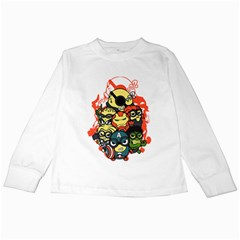 Despicable Avengers Kids Long Sleeve T-shirt by Contest1736614