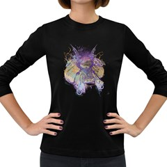 Fairy Tale Women s Long Sleeve T-shirt (dark Colored) by Contest1853705
