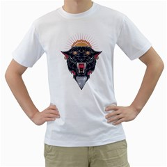 Flash Panther Men s T Shirt (white)  by Contest1907917