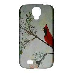 Sweet Red Cardinal Samsung Galaxy S4 Classic Hardshell Case (pc+silicone) by rokinronda